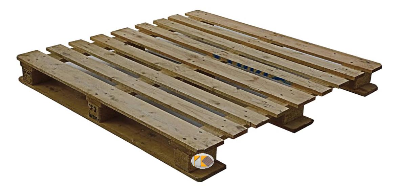 پالت چوبی بشکه ای